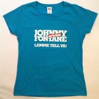 Girlie-Shirt in Azure