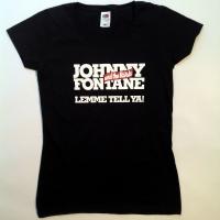 Girlie-Shirt in Schwarz